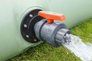 Récupérateur d'eau souple: les avantages